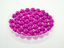 Lot 10 Perle imitation 10mm Fuchsia perle de culture, creation Bijoux, Collier,
