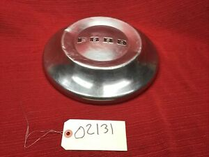 "1948-1952 FORD CUSTOMLINE MAINLINE 10 5/8"" DOG DISH POVERTY HUBCAP WHEEL COVER"
