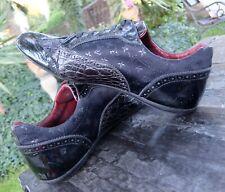 LOUIS VUITTON SCHUHE 42,5 8 1/2 lv schuh shoes shoe black monogram monogramm