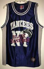 Vintage NY Black Yankees Negro League Baseball Jersey Tank Tshirt Size XXL
