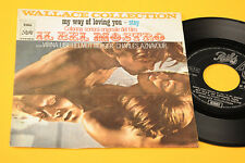 "WALLACE COLLECTION 7"" IL BEL MOSTRO COLONNA SONORA ORIGINALE ITALIA 1971"
