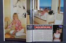 OLIVIA NEWTON-JOHN CLIPPINGS PACK - FROM BRITISH AMERICAN MAGAZINES