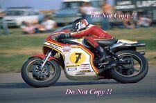 BARRY SHEENE SUZUKI RG500 World Champion 1976 & 1977 Photographie 5