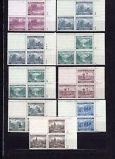 Postfrische echte Briefmarken aus Böhmen & Mähren (bis 1945) mit Bauwerks-Motiv