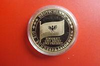 *Münze/Medaille  Vergoldet ca.40mm PP* Richard von Weizsäcker (BOX 1)