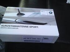 BMW E46 E81 E85 E86 E87 E87N E88 E89 Z3 Sport Short Black Rod Antenna Genuine