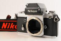 【MINT】NIKON F2 DP-1 Photomic Finder 35mm SLR Silver Film Camera Body +Strap JP