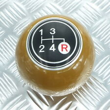 Shift Knob 4 Speed Brown Black Manual 8mm 12mm Toy Ota Mazda Datsun Old Model