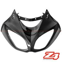 DISCOUNT 2010 ZX-10R Upper Front Nose Headlight Cover Fairing Cowl Carbon Fiber