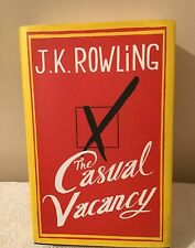 J K Rowling The Casual Vacancy Hardback