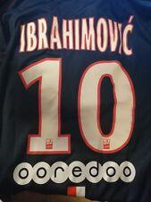15/16 PSG Match Worn shirt #10 Ibrahimovic
