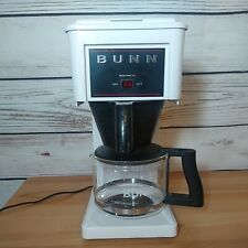 Vintage BUNN Commercial Style Coffee Maker GR10W Fast Brew 10 Cup