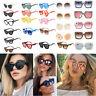 Oversized Retro Sunglasses UV400 Gradient Lens Glasses Women Men Eyeglasses New