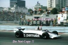 Nelson Piquet Brabham BT49C EE. UU. West Grand Prix Long Beach 1981 fotografía 2