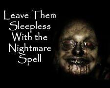 Nightmare Karma Curse Altar Cloth Break Up Divorce Money Troubles Hex Totem