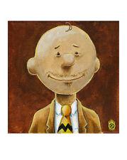 Charlie Brown The Peanuts Lowbrow Pop Art Artist Print