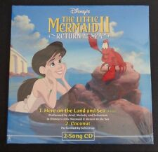 DISNEY'S The Little Mermaid II 2 Return To Sea 2-Song Promo CD Sample New Sealed