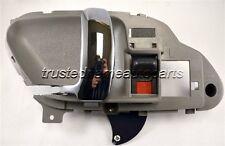 Gray Chrome Lever Interior Inside Inner Door Handle Left Driver Front or Rear