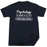 Psychology T-Shirt Psychologist Gift Mind Brain Behavior Science Tee Shirt