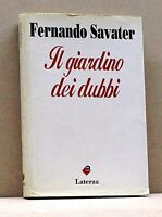 IL GIARDINO DEI DUBBI - F. Savater [Libro, Laterza edit.]