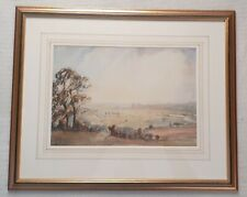 Emily Beatrice Bland 1867-1954 original signed painting Caernarfon Castle Wales