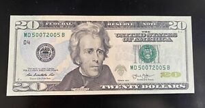Perfect present for a Medical Doctor, USA $20 UNC 2013  MD 50072005