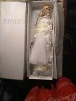 Marilyn Monroe Barbie Doll Shipping Board  Wedding Dress.vail/high heels/earring