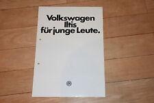 !! Prospekt brochure VW Iltis, 1979, SELTEN Zivilausführung !!