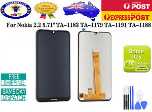 OEM NOKIA 2.2 5.71'' LCD DISPLAY+TOUCH SCREEN DIGITIZER REPLACEMENT BLACK