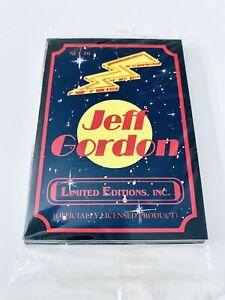 1992 JEFF GORDON LIMITED EDITIONS INC  12 CARD SET - NEW ORIGINAL SEALED PACK