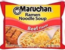 6 Pack Beef Ramen Noodle Soup Maruchan Travel To Go