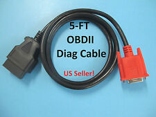 NEW OBD2 OBDII Cable for Launch X431 HD Heavy Duty Truck Diagnostic Adapter -5FT