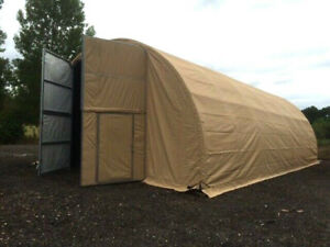 Pre Fab Building Steel Shed 45 x 26 x 15ft Workshop Army Tent Farm Structure