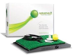 Optishot2 PRO Version 2020 (UVP €769,-) mit eingebauter Schlagschutzplatte