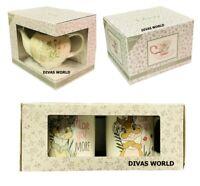 Disney Bambi Thumper Set Of 2 Mugs/ Tea Pot /Cup And Saucer Gift Set PRIMARK