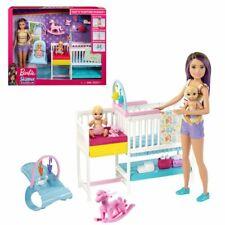 Skipper niñera | Barbie | Mattel GFL38 | Set de juegos para muñeca y bebé