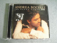 Andrea Bocelli - The Opera Album Aria - CD 17 songs