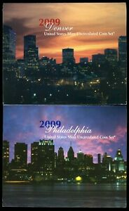 2009 P & D United States Uncirculated Mint Coin Set  CP698