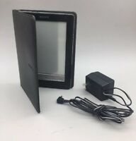 Sony Digital Book Reader PRS-600 Black with case - Fast Free Shipping - A27
