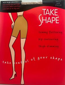 Women's Shapewear - 1 pr Take Shape Mid Thigh Smoother
