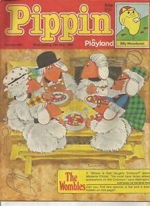 Pippin in Playland #868 : May 1983 : Vintage UK Comic Book.