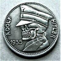 WW2 GERMAN COMMEMORATIVE COLLECTORS 5 REICHSMARK HOBO COIN '35