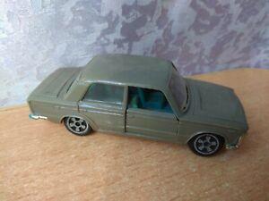 Vintage toy soviet car Fiat 125 M1/43 plastic model Military equipment USSR 1:43