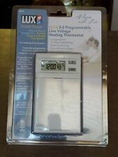 LUX ELV4 5-2 Programmable Line Voltage Heating Thermostat