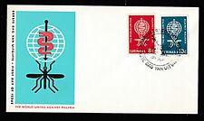 Suriname 1962 World United Against Malaria Fdc