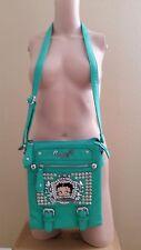 Betty Boop cross-body bag bling shoulder Rhinestone messenger Mint Gently Used