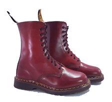 Dr. Martens Doc 1490 England Rare 70's Vintage Oxblood Leather Boots UK 6 US 8