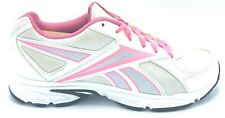 Reebok Tranz Runner RS Womens Size 9.5 Running Shoes White Pink V53532 EUC