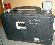 RKI Riken Keiki RI-255 Gas Monitor 1011 Gas Detector R-113 Pelican 1650 Case