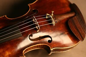FINE OLD ANTIQUE GERMAN 18TH CENTURY MASTER VIOLIN MADE BY ANDREAS KAMBL, 1779.